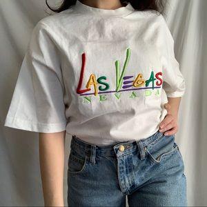 🌼Las Vegas Nevada embroidered t-shirt